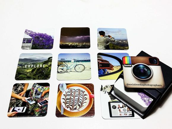 Social Media Photographers Moo Business Cards