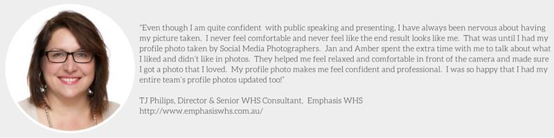 TJ Philips Corporate Profile Headshot Social Media Photographers
