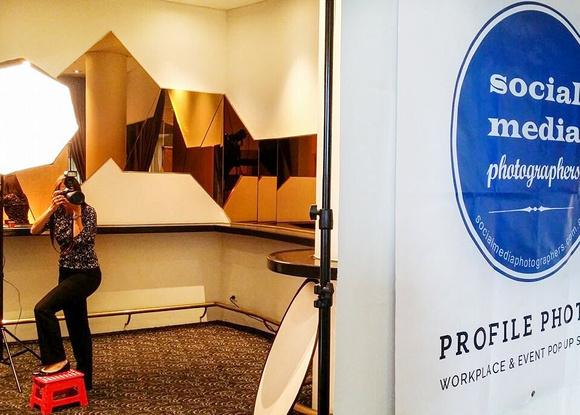 Pop Up Studio Professional Profile Photos Social Media Photographers
