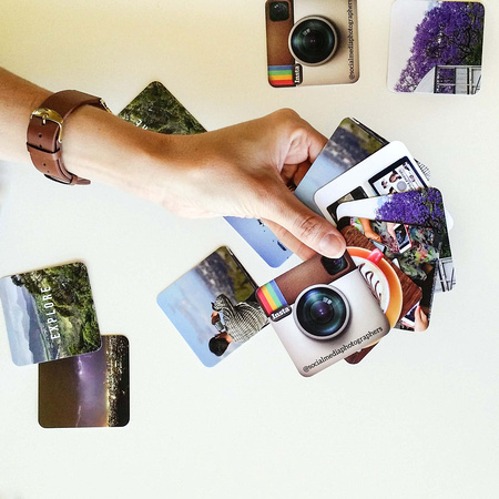 Social Media Photographers Moo Business Cards