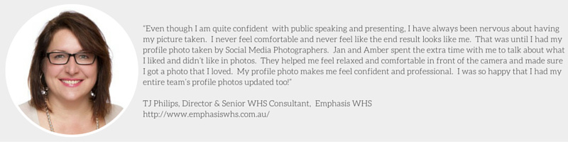 TJ Philips Corporate Profile Headshot Social Media Photographers